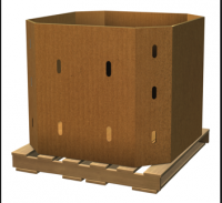 40x48 Gaylord bulk boxes - pallet size containers