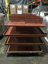 FREE!  Floor Display Shelving